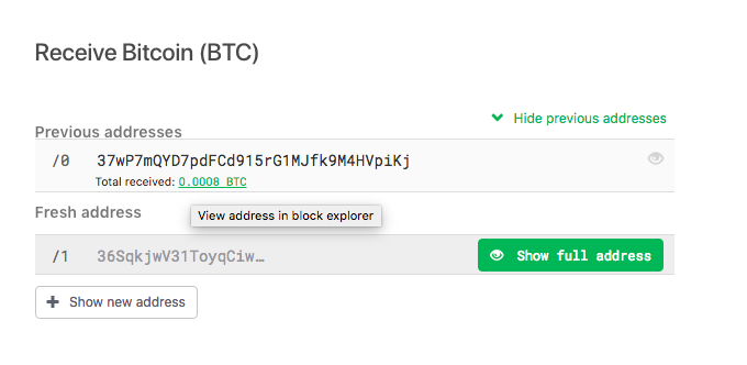 Receiving RBF Transaction - Incoming transaction list. No RBF flag.